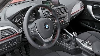 2011 BMW 1 Series — Sport Line Interior