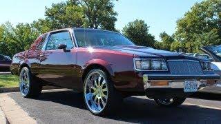 "Super clean Buick Regal sitting on 22"" staggered Asanti Wheels @ Hott Wheelz Car Club picnic"