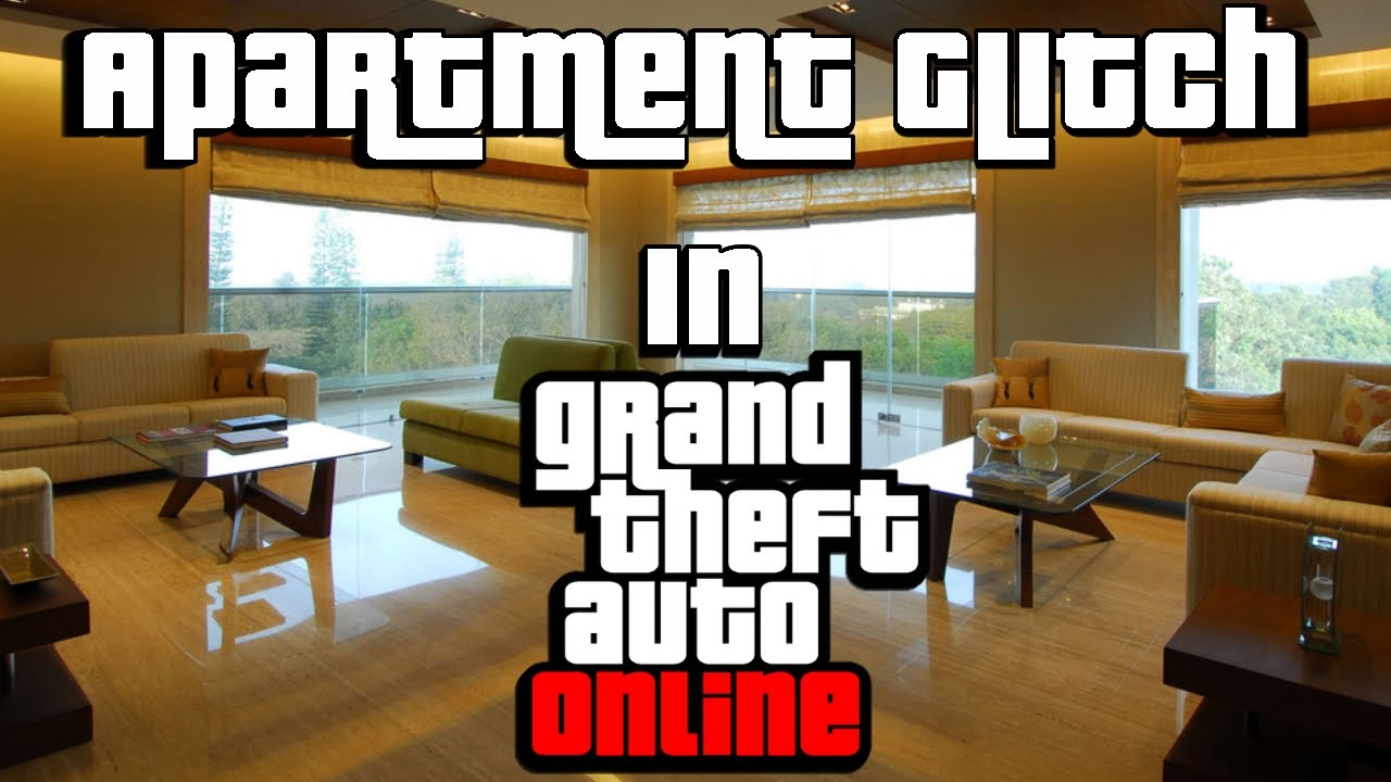 Wtf gta 5 online apartment glitch youtube for Designer apartment gta 5