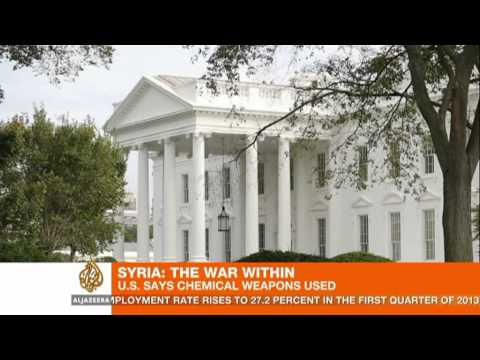 US says Syrian use of chemical weapons likely