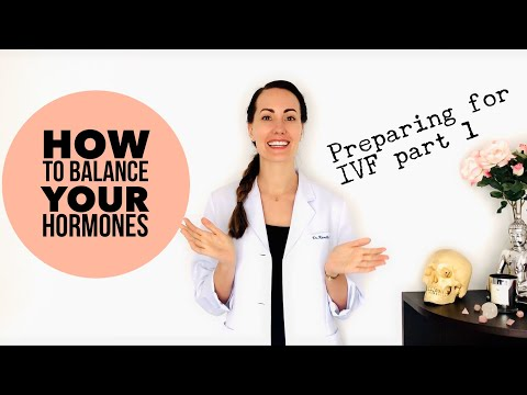 How To BALANCE YOUR HORMONES Naturally When Trying To Conceive  | Preparing for IVF part 1 | VLOG 1