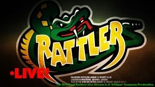 Playoff Game 3: Bradford Rattlers vs Temiscaming Titans (February 20th 2017)