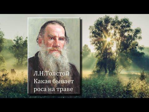 Л.Н.Толстой. Какая бывает роса на траве