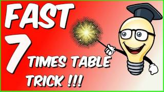 Fast 7 times table trick!!!