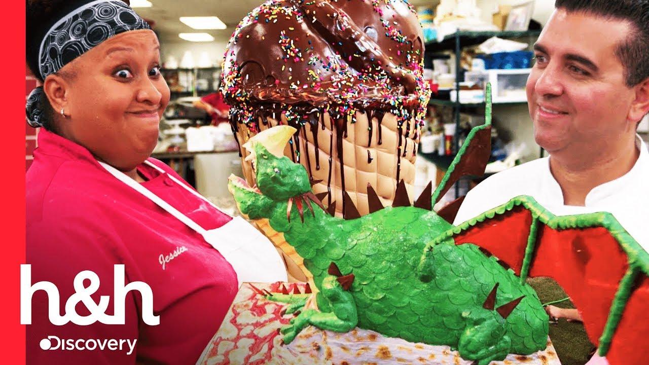 Los Pasteles Más Grandes De La Temporada Cake Boss Discovery H H Youtube