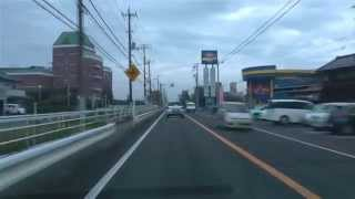 [drive japan]国道126号線 八日市場-銚子(Route126 Yokaichiba-Choshi) Part.2