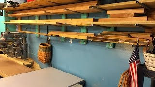 2x4 And Conduit Lumber Rack