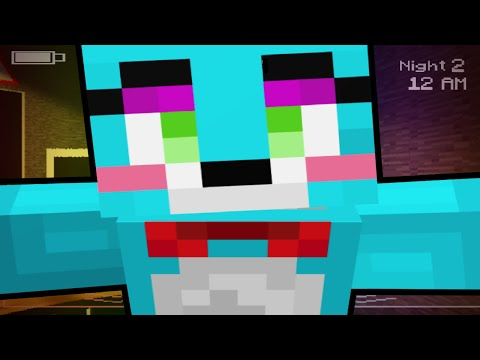 Thumbnail: FIVE NIGHTS IN MINECRAFT!!