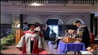 Ορκομωσία Διδακτορικού Κυριάκου Μπαμπασίδη (2003)