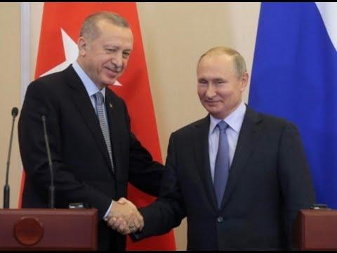 بوتين وأردوغان يتفقان على تسيير دوريات روسية تركية وتسهيل انسحاب الأكراد من شمال سوريا  - نشر قبل 4 ساعة
