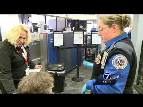 Eppley security shows what holiday travelers left behind