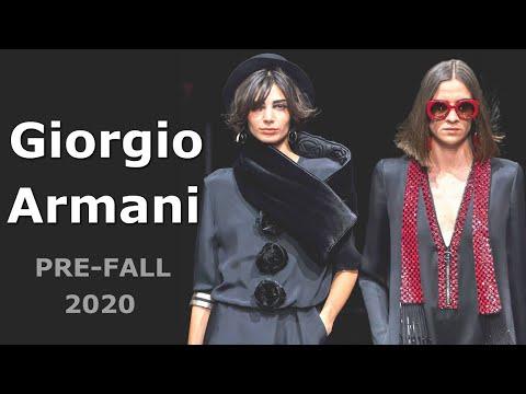 Giorgio Armani Pre-Fall 2020-2021 ( Мода в Милане ) Одежда, сумки и аксессуары