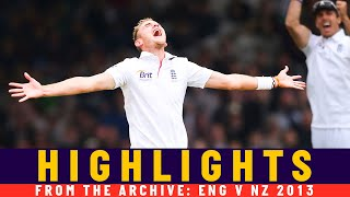 Broad & Southee Dominate Low-Scoring Thriller! | Classic Match | England v NZ 2013 | Lord's
