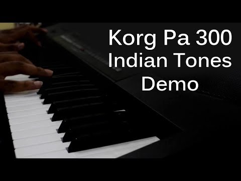 Korg Pa 300 All Indian Tones ( Indian Sound Library )
