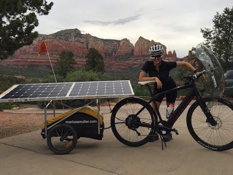 solar electric bike cross country adventure electric. Black Bedroom Furniture Sets. Home Design Ideas
