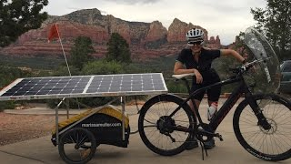 Solar Electric Bike Cross Country Adventure | Electric Bike Report