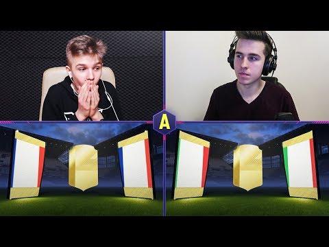 2x WALKOUT W KOZACKIM PACK AND PLAY! ADRYAN VS PABLO! | FIFA 18 ULTIMATE TEAM