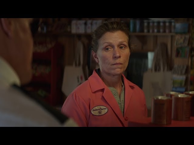 """A dark comic drama starring Frances McDormand won the People's Choice prize at the Toronto International Film Festival on Sept. 17. TIFF's director says """"Three Billboards Outside Ebbing, Missouri"""" tells the story of a grieving mother with """"humour and grit."""" (Canadian Press)"""