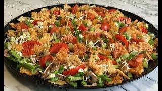 """Фирменный Салат """"Фаворит"""" Вкусный, Красивый и Очень Свежий Идеально на Новый Год! / Favorite Salad"""