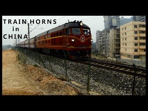 Train Horns in China