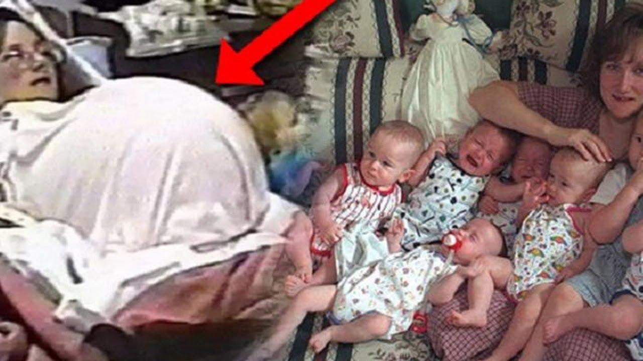 İnanılmaz! Bu Kadınlar Bebek Üretim Fabrikası Gibi - Aynı Anda 8 Çocuk Dünyaya Getirdi