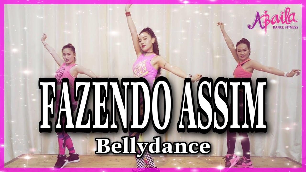 Fazendo Assim - Luísa Sonza, Gaab   Zumba   Bellydance   Abaila Dance Fitness  