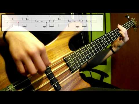 Pink Floyd - Breathe (Bass Cover) (Play Along Tabs In Video)