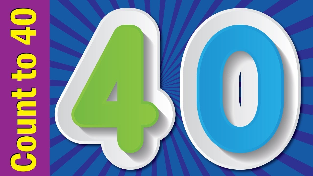 Learn Numbers 1 To 40