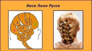 плетение волос для начинающих
