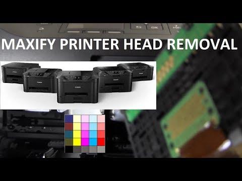 MAXIFY MB2120 MB2150 Printer Head Removal
