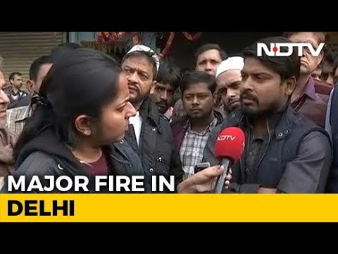 Delhi Fire: 'Heard Labourers Trying To Run Out', Says Owner Of Nearby Building
