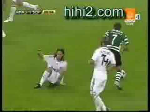 Real Madrid vs Sporting Lisbon  5-3  Bernabeu Cup 28/8/2008