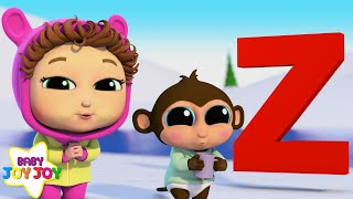 Z is for Zebra | Letter Z | Learn Phonics | Baby Joy Joy