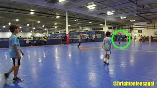 THE CONCEPT OF LOOKING - Brighton Lee Sagal -  8 year old soccer .
