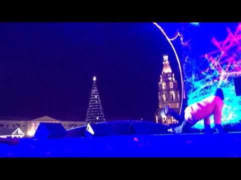 Выступление брэйк данс коллектива Fast Feet 05.01.2016 Советская Площадь