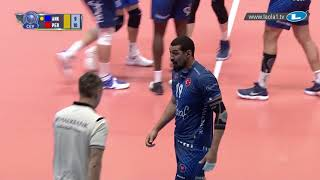 Don't celebrate too soon! Halkbank kill on the block where Perugia neglect to do so