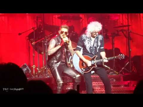 Q ueen + Adam Lambert - AOBTD - Prudential Center - Newark, NJ