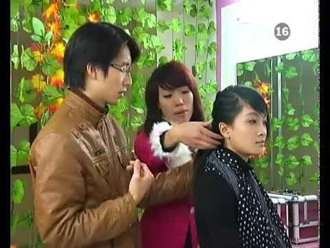 Dạy tết tóc cô dâu - Kỹ thuật bới tóc cô dâu chuyên nghiệp - P.4