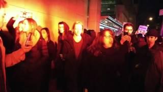 Leftist Professor has Meltdown at NYU Gavin McInnes Appearance