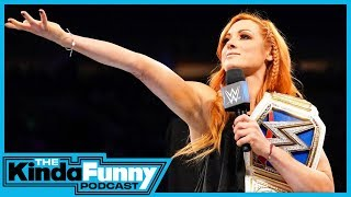 We Went To The WWE Royal Rumble! - Kinda Funny Podcast (Ep. 4)