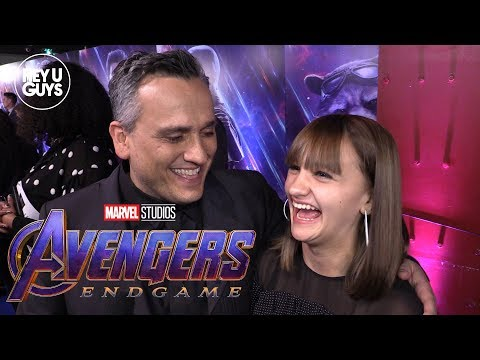 Avengers: Endgame Interview Writer/Director Joe Russo And Ava Russo