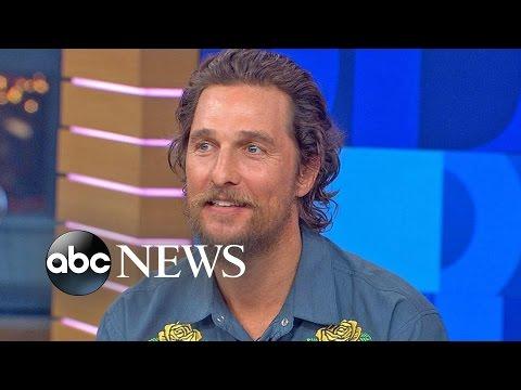 Matthew McConaughey Interview On 'Gold'