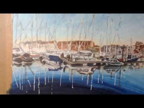 Copic Harbor part 4 Detail
