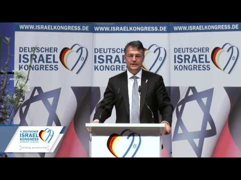 4. Deutscher Israelkongress - Grußwort Staatssekretär Gunther Adler