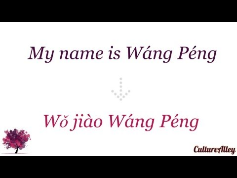 Basic Mandarin Chinese | Lesson 7 | Learn to tell your surname!