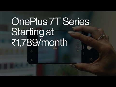 Get the OnePlus 7T Series at ₹1789/month | Amazon Great India Festival from YouTube · Duration:  21 seconds