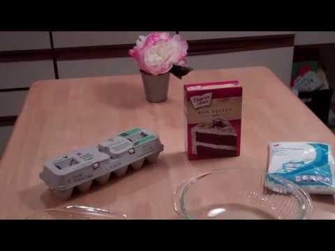 Easy Ooey Gooey Cake Recipe - Red Velvet