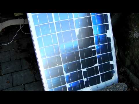 My Cheap $30 Ebay do it yourself solar panel