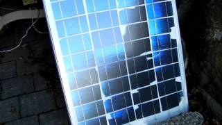 My Cheap $30 Ebay do it yourself solar panel