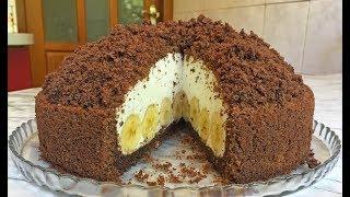 """Торт """"Норка Крота"""" / Cake Mink Mole / Шоколадный Торт / Бисквитный Торт"""